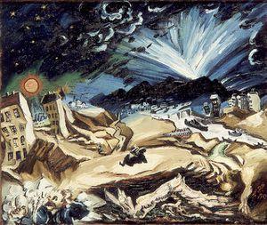 Meidner ApocalypticLandscape