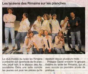 rimain spectacle 2013