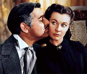 Gone with the wind - Clark Gable et Vivien Leigh