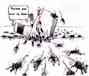 Rats quitte navire