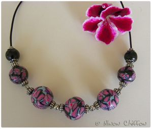 Inspiration collier boules 1