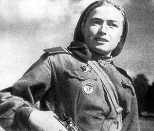 Femmes snipers de l'armée rouge