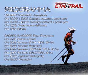 Etnatrail 2014. Ecco il programma dei due giorni della manifestazione. Ed intanto il conto alla rovescia continua a correre...