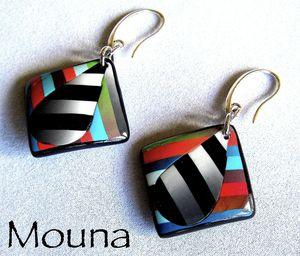 Boucles La vie en couleurs 5 DISPONIBLE 15 euros.