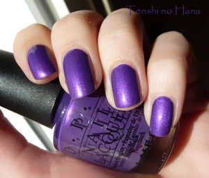 OPI Purple with a Purpose 1