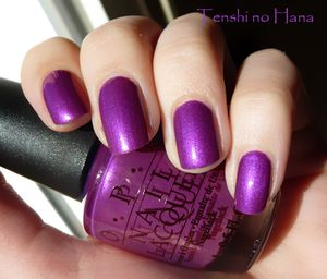 OPI Purple with a Purpose 1b