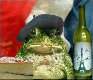 FRENCH FROG 1