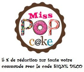 Miss pop cake