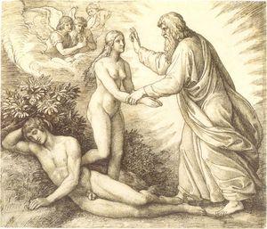 Création de la femme (Schnorr von Carolsfeld)