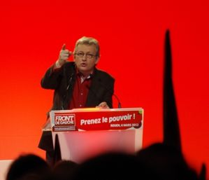 Meeting Rouen Mélenchon - Pierre Laurent - PCF