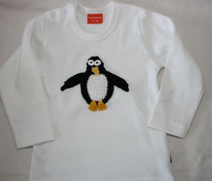 shirt häkelpinguin