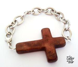 cadena marrón