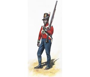 TPW2 - War of 1812, 5th West India Regiment, New Orleans 18