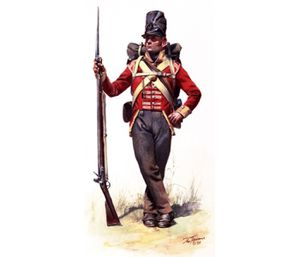 TPW4 - War of 1812, 104th British Regt of Foot, L.I. Co. Ne