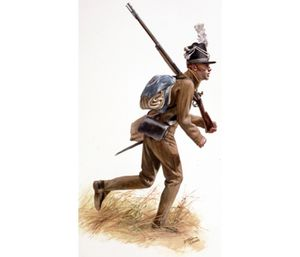 TPW27 - War of 1812, 17th United States Infantry at the Rai