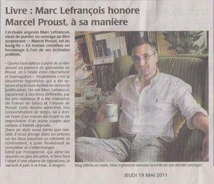 article courrier ouest 19 05 2011