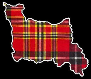 Carte Normandie Tartan Normand