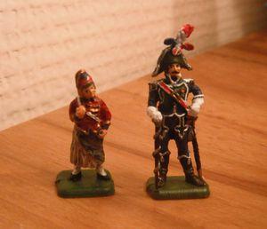 tambour major et cantinière