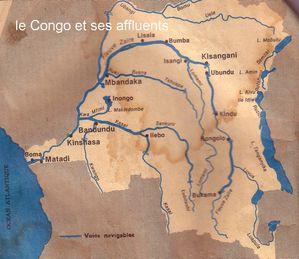 le Congo et ses affluents