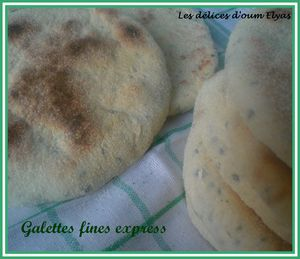 Galettes fines express