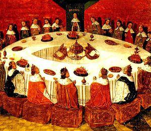 Der runde Tisch von König Artus