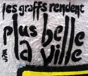 graffs rendent plus belle la ville