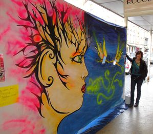 Artiste Peintre Ardennes Fresque Performance 12