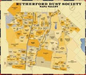 winesite map Rutherford Dust