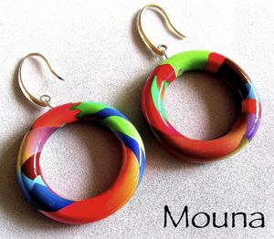 Boucles Love colors 2 DISPONIBLE: 15 euros.