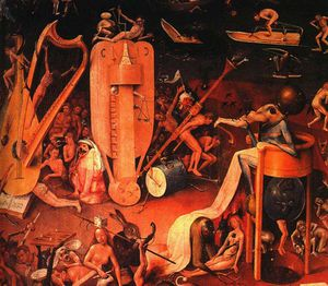 18 Triptych of Garden of Earthly Delights(detail)