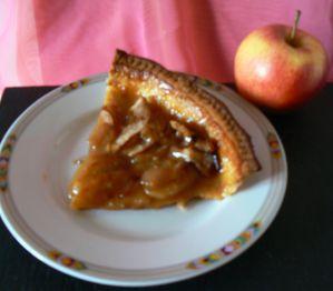 Tarte aux pommes Salidou