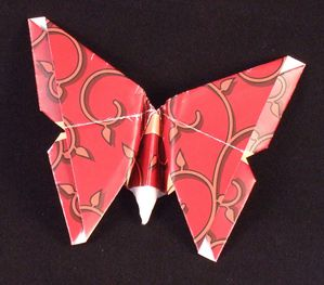 Origami papillon exemple 2