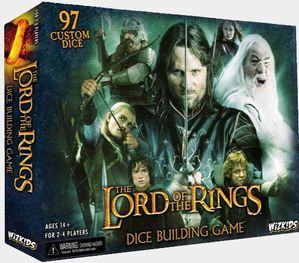 The Lord of the Rings-Dice Building Game-boite jeu