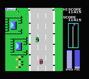 road fighter msx