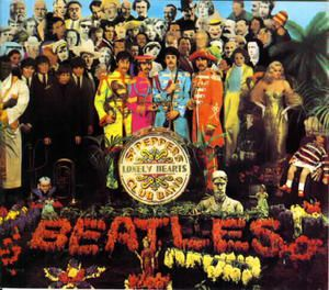 Pochette de Sergeant Pepper's Lonely Hearts Club Band des Beatles