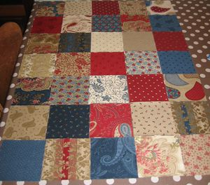 TABLIER BORN TO QUILT MONTAGE