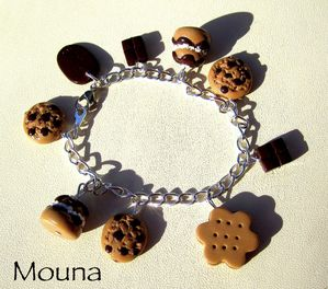 Bracelet Gourmand 5 DISPONIBLE: 19 euros.