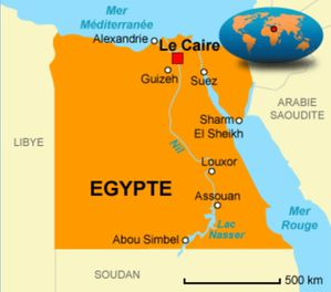 egypte-carte