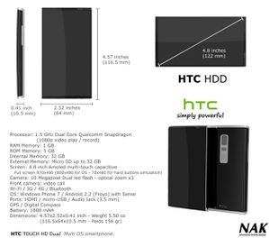 HTC HDD 1b