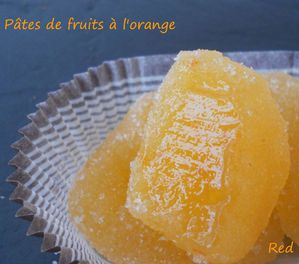 pâtes de fruits à l'orange4
