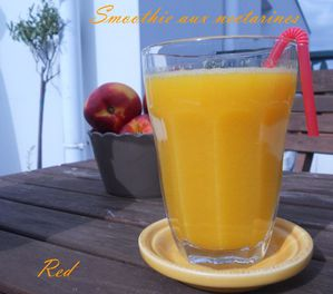 smoothie aux nectarines