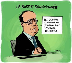 Hollande Russie