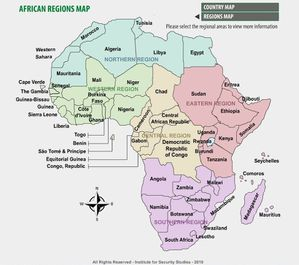 African Region maps source ISS