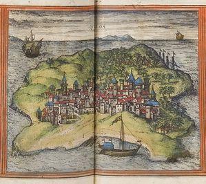 Braun Quiloa Kilwa 1572