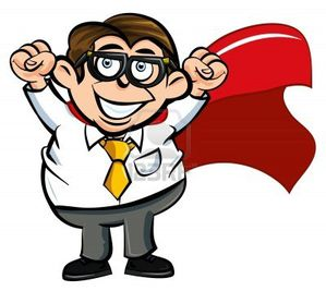 9438219-cartoon-superhero-office-worker-happy-with-his-fist