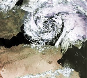 Mediterranean Cyclone 07 oct 1996 1202Z