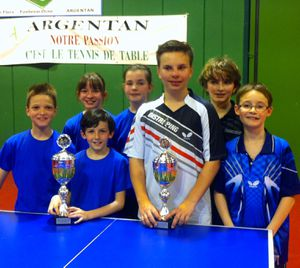 Deux champions de basse normandie saint pair - Ligue de basse normandie de tennis de table ...