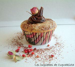 Cupcakes Poivre Rose