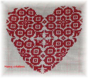 Coeur rouge 002