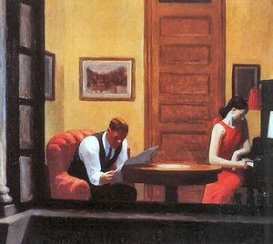 Edward hopper room in new york